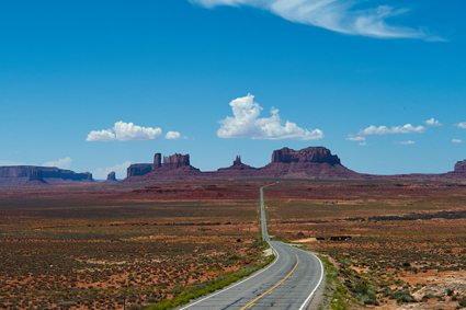 Highway. Arizona USA